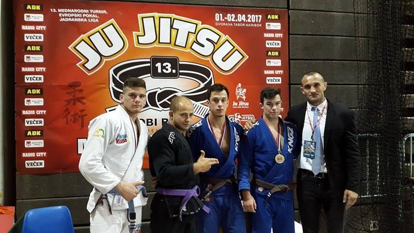 Četiri medalje predstavnika Ju jitsu kluba Zadar u Sloveniji