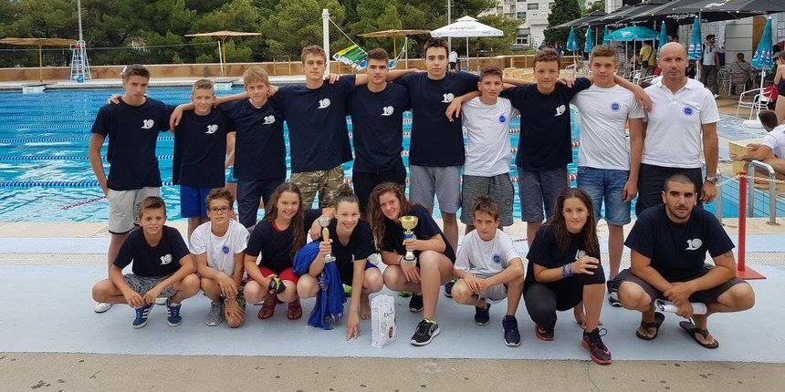 Pregršt medalja plivača Jadere u Mostaru