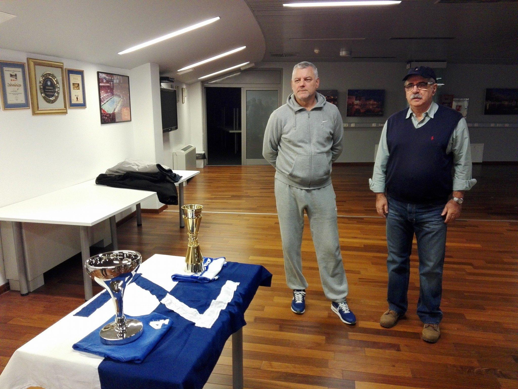 Pehari osvajača Kupa 1970. i prvenstva bivše države 1986. vraćeni u Krešin dom. Muzej zadarske košarke treba što prije ugledati svjetlo dana.