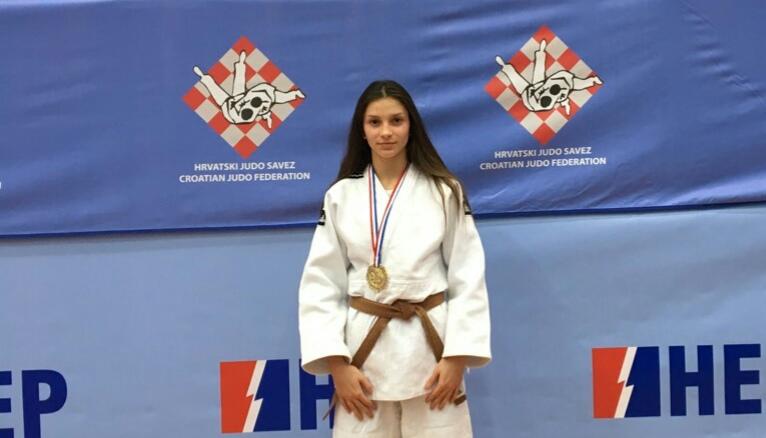 Nina Katuša (JK Zadar) seniorska prvakinja Hrvatske u judu