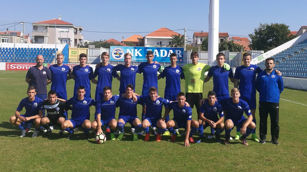 Juniori NK Zadar drugi u Dalmaciji