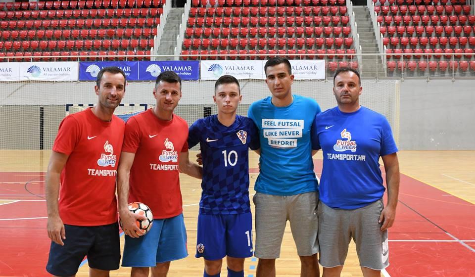Futsal Week u Poreču: Josip Jurlina strijelac za U 19 reprezentaciju Hrvatske protiv Srbije