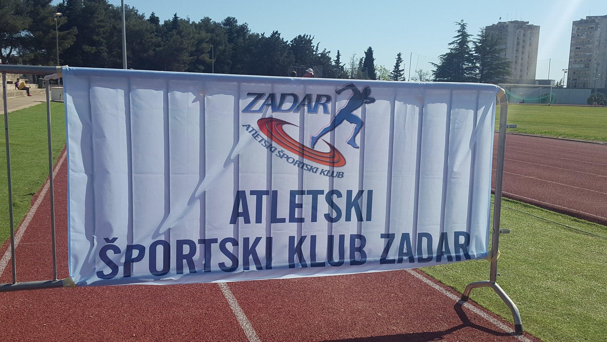 Atletičarka AŠK-a Zadar, Veronika Šokota u sastavu kadetske reprezentacije za mađarski Gyor