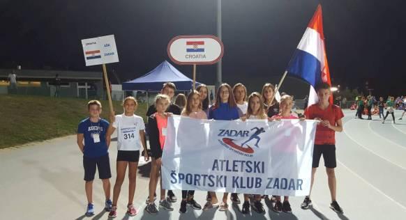 Brno (Češka) European Kids Athletics Games: Ašk-ovci Brodar drugi u skoku u dalj, Šokota druga u bacanju koplja