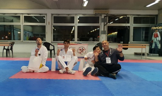Mateo Škara državni prvak u para taekwondou, srebrni su Jure Milin i Ivan Periša
