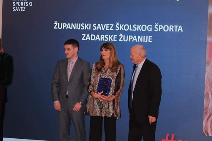 Vrijedna priznanja Županijskom savezu školskog sporta ZŽ