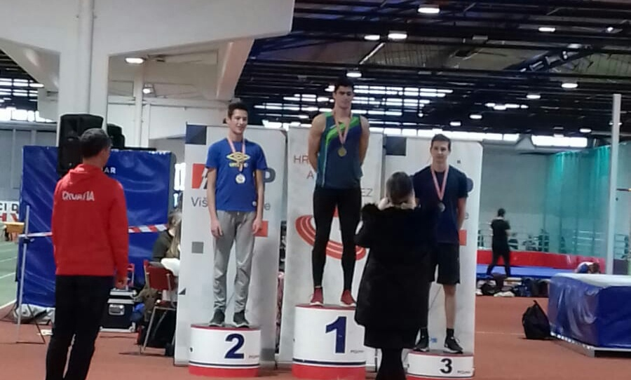 Zlato i bronca atletičara Fortiusa na PH za juniore