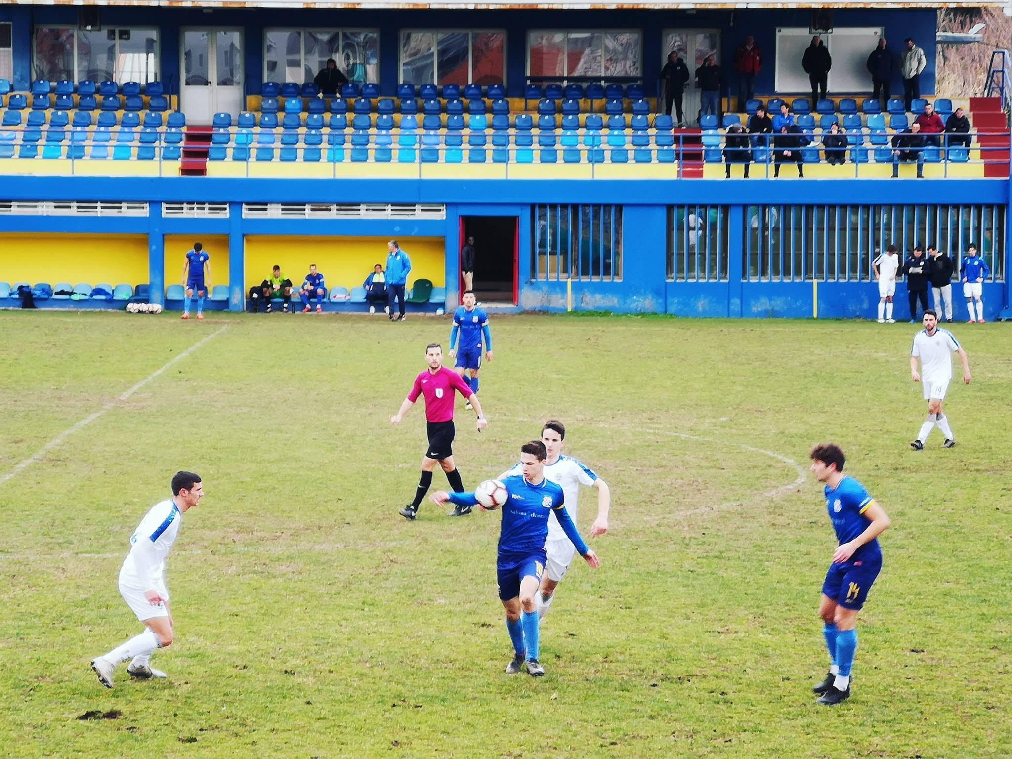 Poraz nogometaša Zadra u drugoj provjeri kod Solina