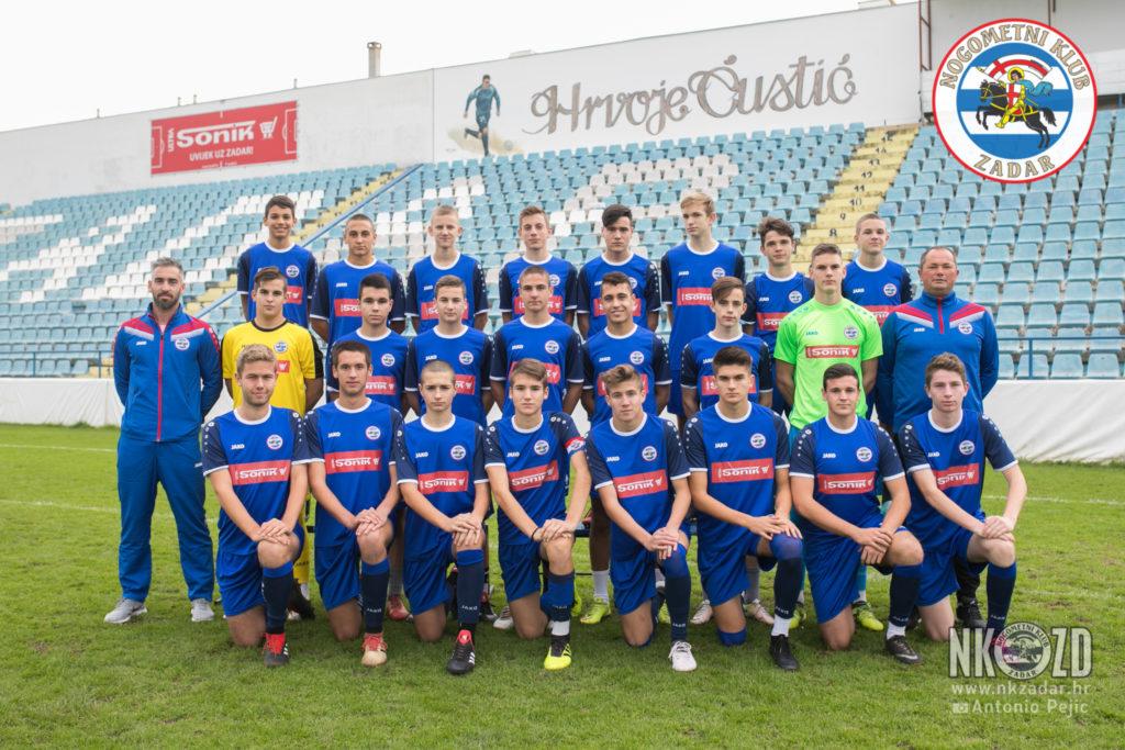 Dalmatinska liga: Pobjede kadeta, pionira i mlađih pionira NK Zadar