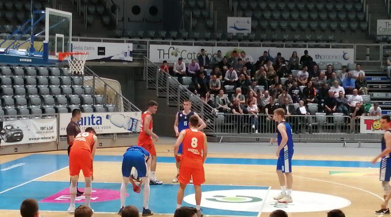 Juniori KK Zadar poraženi od Cedevite. Za treće mjesto na PH igraju protiv Splita.