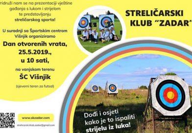 Dan otvorenih vrata Streličarskog kluba Zadar