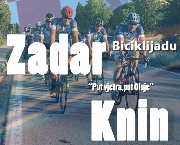 """24. Biciklistički maraton od Zadra do Knina """"Put vjetra, put Oluje"""""""