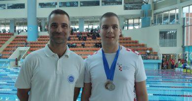 Mihovil Ninčević osvojio tri medalje za paraplivačku reprezentaciju Hrvatske