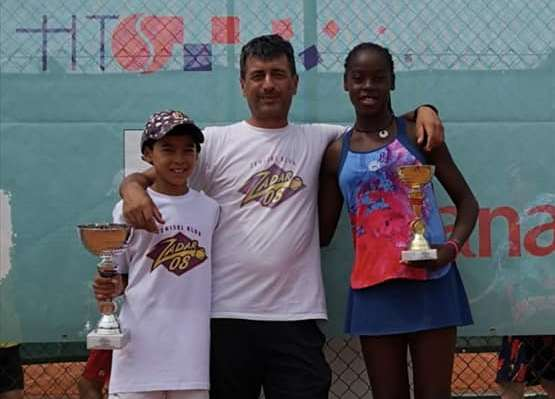 Jou George Gnjidić (Zadar 08)  novi je prvak Hrvatske u tenisu u uzrastu do 12 godina