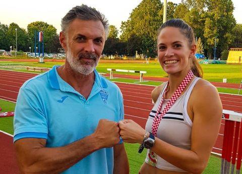 Novi osobni i državni rekord Paole Borović u troskoku te sedma uzastopna titula najbolje u Hrvatskoj