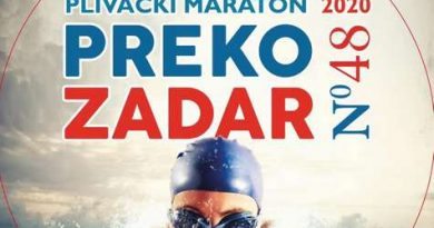 114 plivača nastupit će na 48. plivačkom maratonu Preko – Zadar