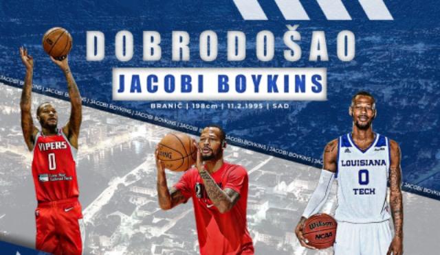 Jacobi Boykins novi je igrač KK Zadar