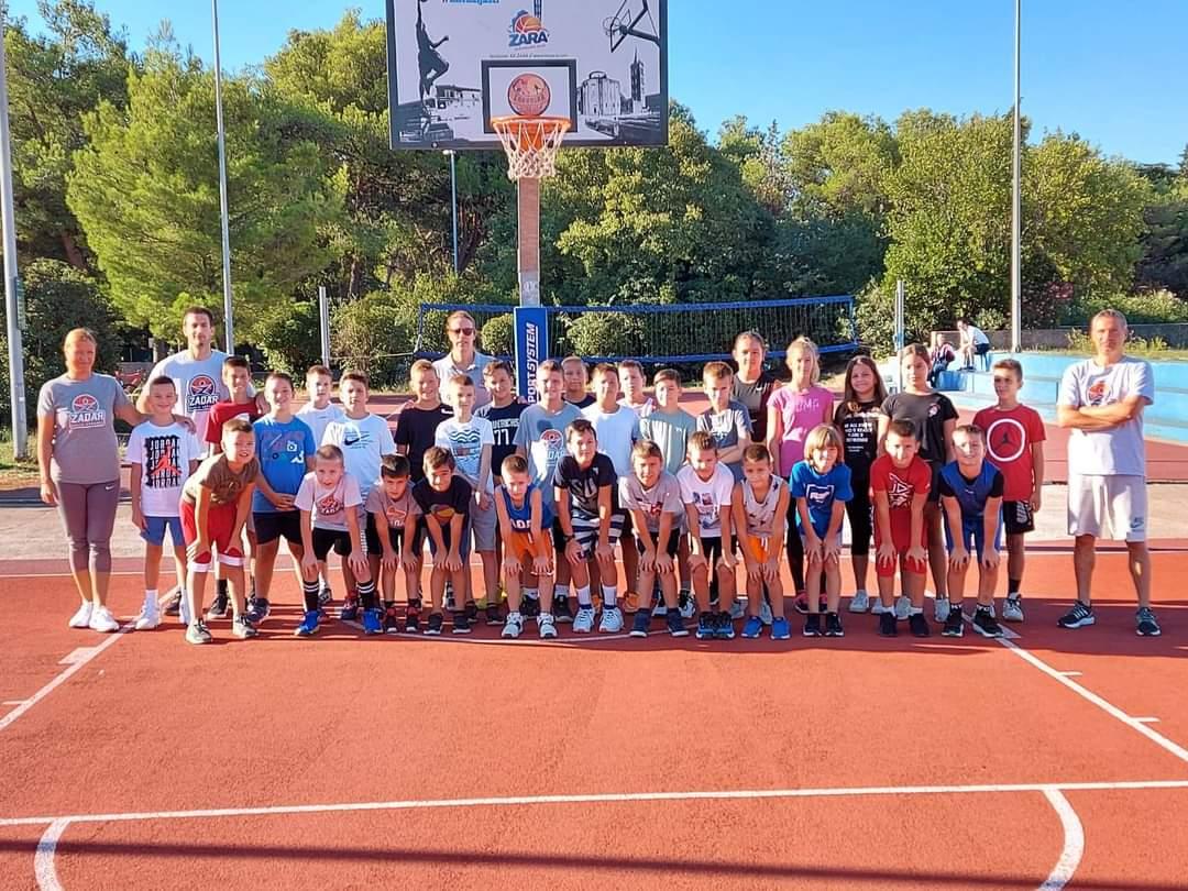 Održani Otvoreni dani Škole košarke Zadar
