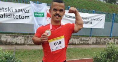 Vladimir Gašpar prvak Hrvatske u bacanju koplja za osobe s invaliditetom