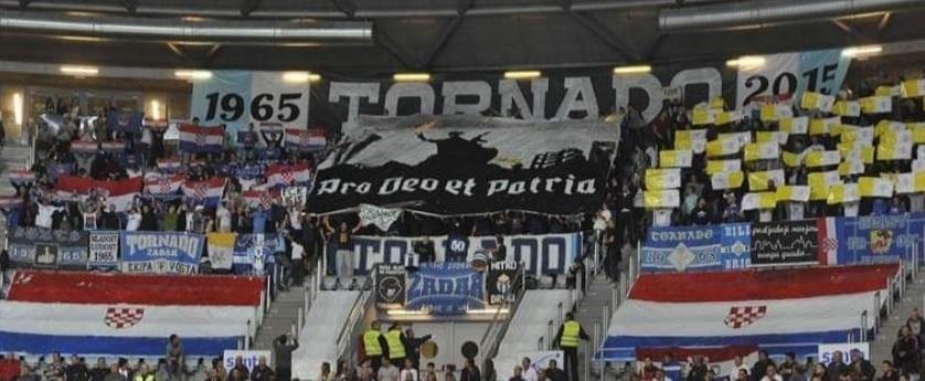 SVI K'O JEDAN Jedinstvena akcija svih hrvatskih navijačkih skupina