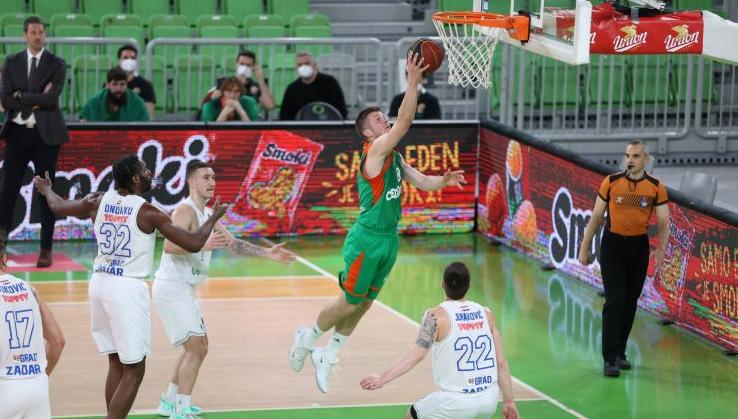 UTAKMICA ZA ZABORAV Zadar u Ljubljani izgubio 21 loptu i 21 razlike