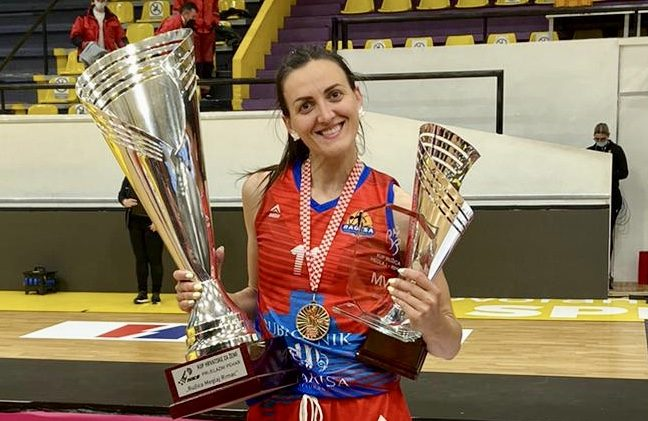 DVOSTRUKA KRUNA Ana Vrsaljko s Ragusom osvojila i prvenstvo Hrvatske