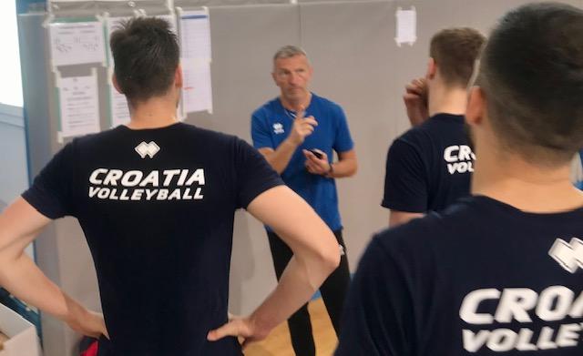 Odbojkaši Hrvatske u Zadru se pripremaju za kvalifikacije za Europsko prvenstvo