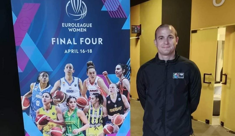 VELIKO PRIZNANJE Martin Vulić sudio finale ženske Eurolige!