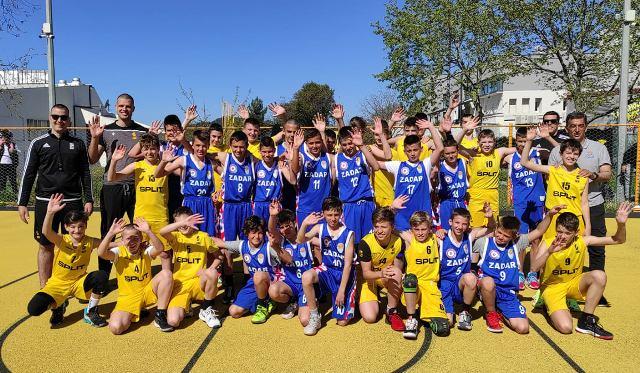 NAPOKON IGRA! Škola košarke Zadar u Splitu odigrala dvije utakmice