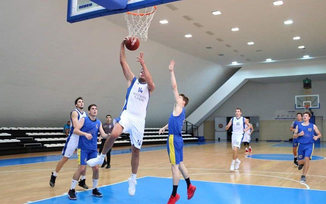 Košarkaši Sveučilišta u Zadru idu po završnicu studentskog prvenstva