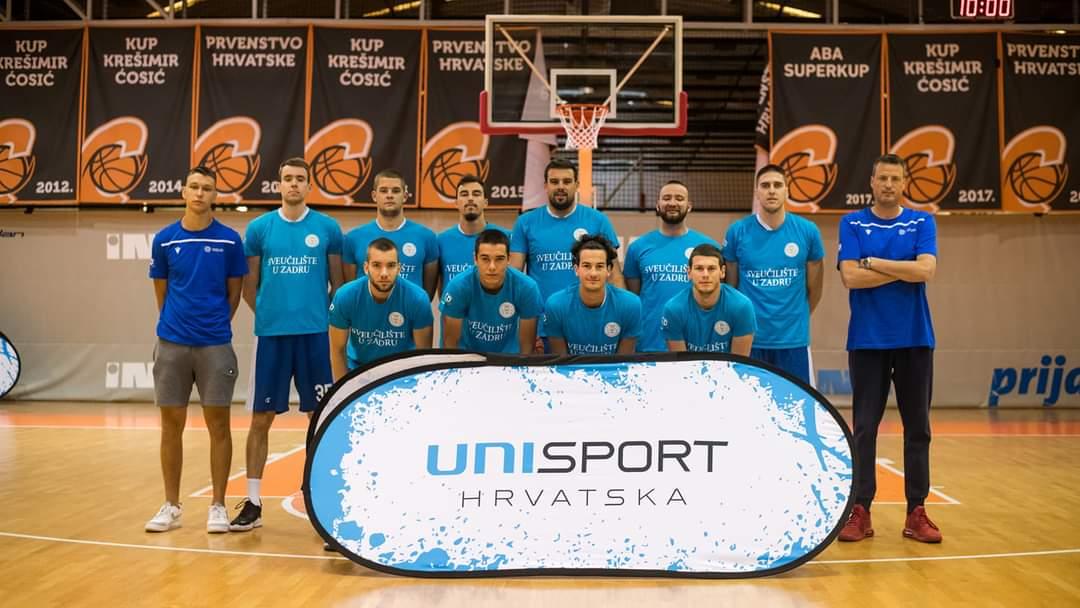 Košarkaši Sveučilišta u Zadru izborili plasman na završnicu u Splitu