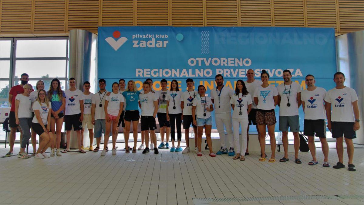 NA VIŠNJIKU Paraplivači Zadra osvojili 10 odličja na 5. Otvorenom regionalnom prvenstvu Hrvatske