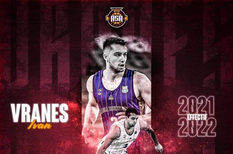 NOVI IZAZOV Ivan Vraneš potpisao za francuskog PRO B ligaša ASA Basket Strasbourg