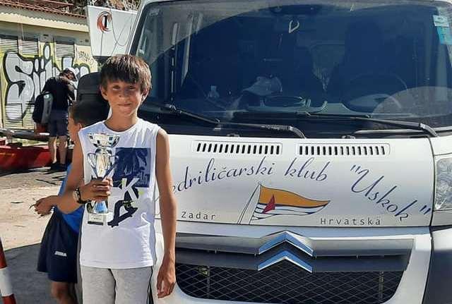 OTVORENO PRVENSTVO HRVATSKE Roko Mlinar osvojio drugo mjesto u klasi Optimist