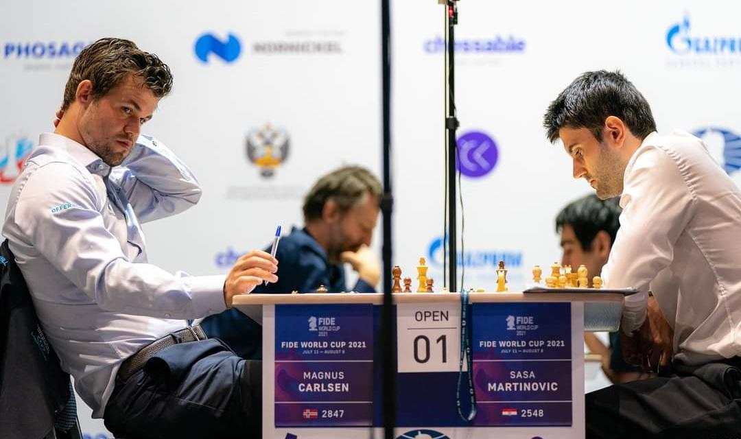 NEPROCJENJIVO ISKUSTVO Carlsen ipak prejak, Martinović pružio dobar otpor