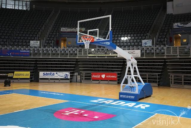 Na Višnjiku za novu košarkašku sezonu – novi koševi!