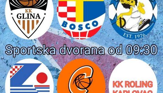 Predstavnici Škole košarke Zadar sudjeluju na humanitarnom turniru u Glini